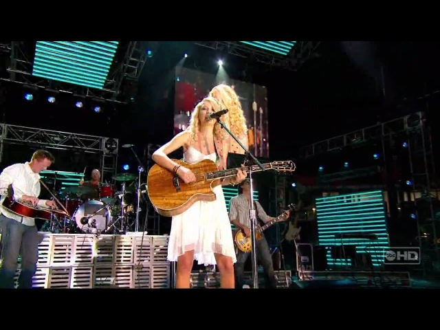 Taylor Swift Tim McGraw live CMA Music Festival 1280 x 720 160kbs Bit rate 4074 kbits