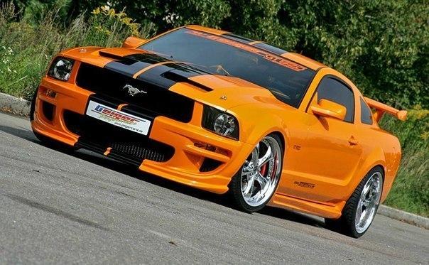 Geiger Mustang GT Объем: 5.2L Мощность: 520 л.с. Крутящий момент: 563 Нм Привод: Задний Разгон до сотни: 4.2 сек Максимальная скорость: 287 км/ч