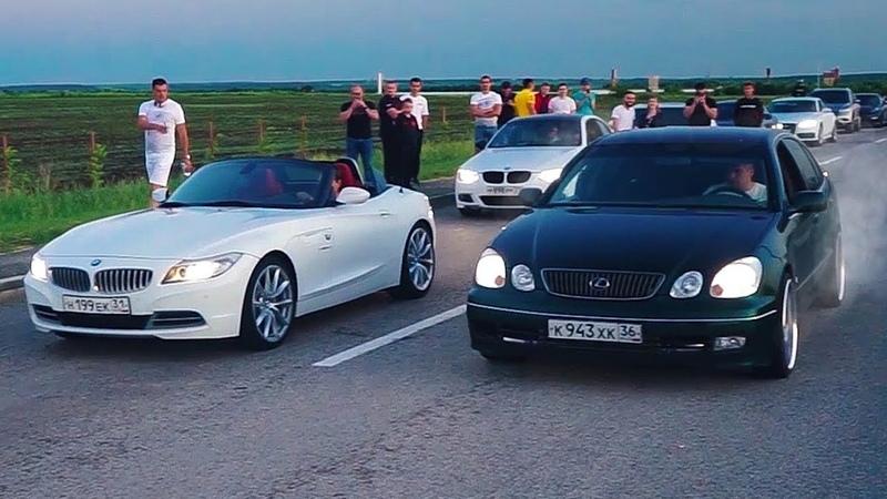 Голодный СТУДЕНТ на LEXUS ПРОТИВ МАЖОРОВ на ДОРОГИХ AUDI BMW PORSCHE НЕЕДУЩИЙ NISSAN GTR