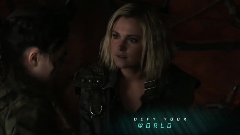 5x07   Clarke and Madi prepare for her first day of training   Eliza Taylor