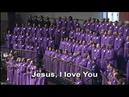 Jesus I Love You Edwin Hawkins FBCG Combined Choir