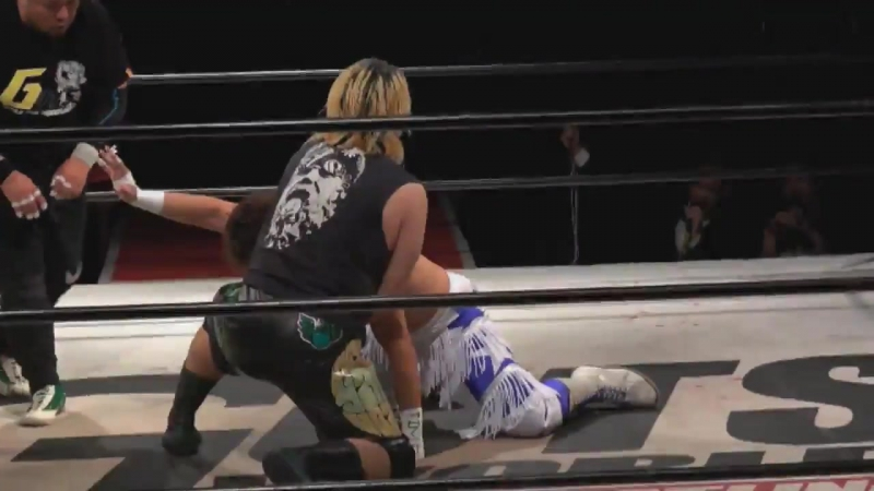 Shota vs. Yasu Urano (GUTS World - GUTS World Special Box Office Bukotsu Tao)