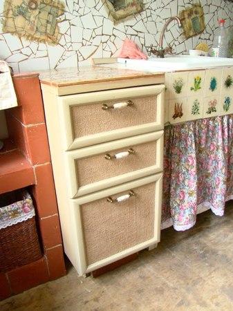 Декорируем мини комод для кухни в стиле кантри - Decorate with mini drawers for kitchen