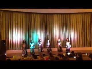 Групповой танец школы-студии восточного танца