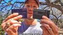 Пистолет размером с кредитку Разрушительное ранчо Перевод Zёбры