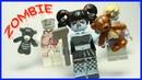 LEGO Зомби Апокалипсис. Китайское лего. Минифигурки.