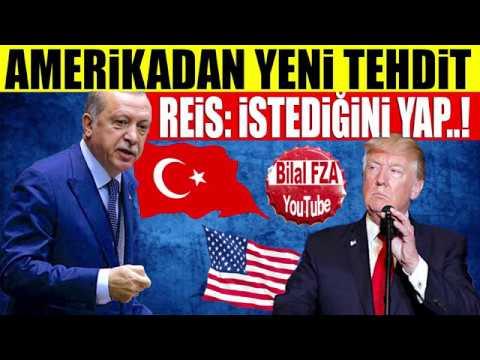 Erdoğan, Trump Birkaç Haftan Var Attığın Tehdit Twitlerini Takmam GİRERİM Conniye Açık Net Mesaj