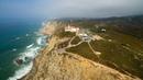 Cabo da Roca aerial view Westernmost extent of continental Europe 4K Ultra HD