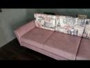 Ремонт дивана с изменением дизайна.
