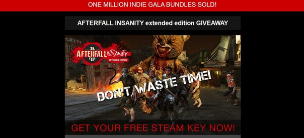 AFTERFALL INSANITY extended edition GIVEAWAY
