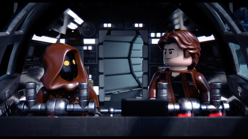 Jawas, Just Jawas - LEGO Star Wars - Choose Your Co-Pilot
