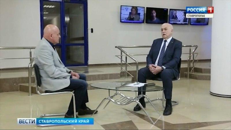 О проблемах молочной отрасли интервью с президентом Торгово-промышленной палаты Ставропольского края Борисом Оболенцем