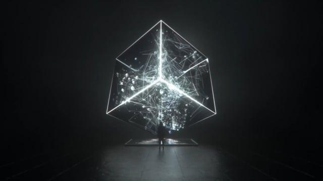 DATA GATE World's First NASA AI Astronomical Research Data Sculpture Public Art