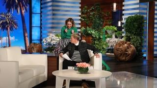 Sarah Paulson Attempts to Get a Scare Revenge on Ellen