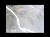 Появилось видео момента ДТП, где на трассе Сыктывкар-Ухта
