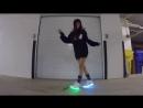 Танцует Шафл _ Shuffle светящиеся кроссовки [