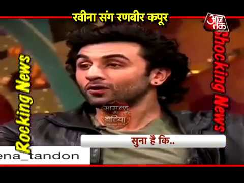 Ranbeer Kapoor shocks Raveena Tandon in a TV show
