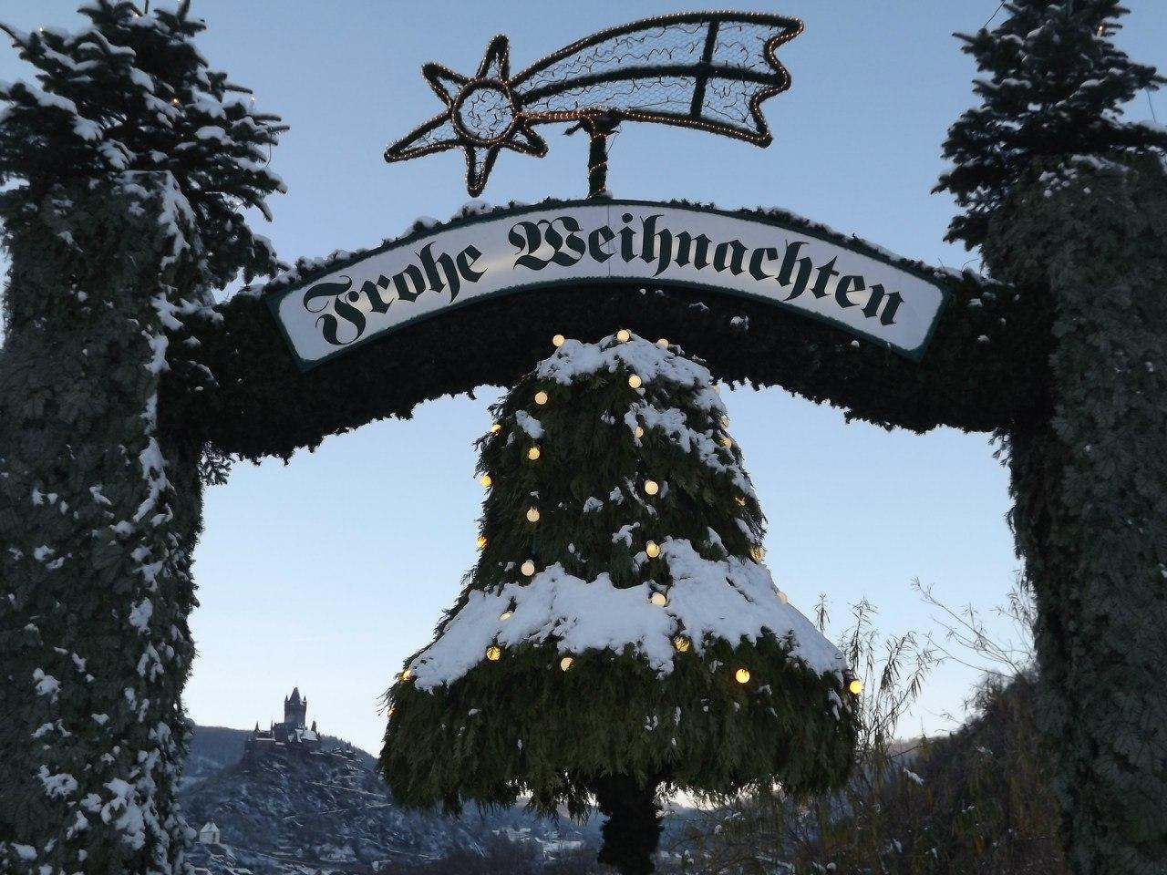Рождественские каникулы на Рейне 2017