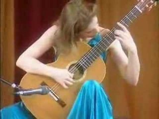 Ana Vidovic- Five Bagatelles, Con Slancio (William Walton)