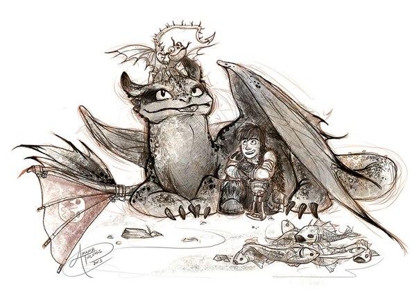 Как приручить дракона защитники олуха сезон