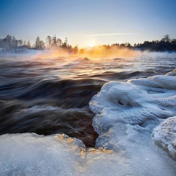 Река Вуокса, Ленинградская область. Автор фото — Сергей Дегтярёв: nat-geo.ru/photo/user/292323/