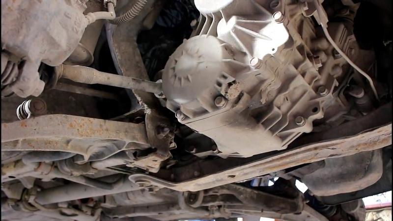 Как снять коробку передач 1часть на Мицубиси РВР N28W Mitsubishi RVR 1993 года