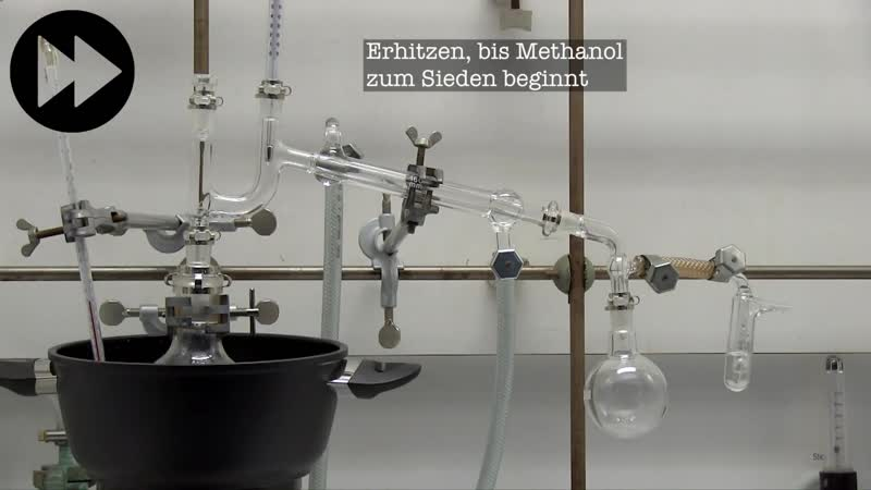 6) Очистка и осушение метанола