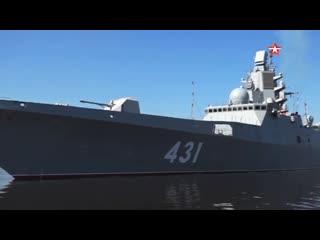 Корвет «#Гремящий» и фрегат «Адмирал флота Касатонов» вышли на испытания в Балтийское море #ВМФ