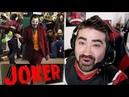 Joaquin Phoenix Joker Reveal - Angry Reaction!