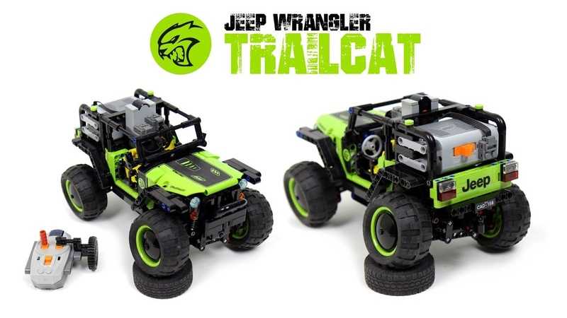 LEGO Ideas 4x4 RC Jeep Wrangler Trailcat Project (Needs Your Votes!)