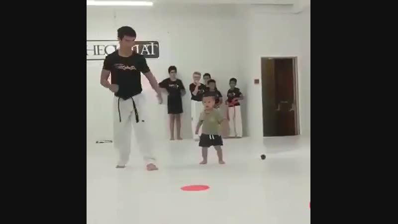 Юный дзюдоист
