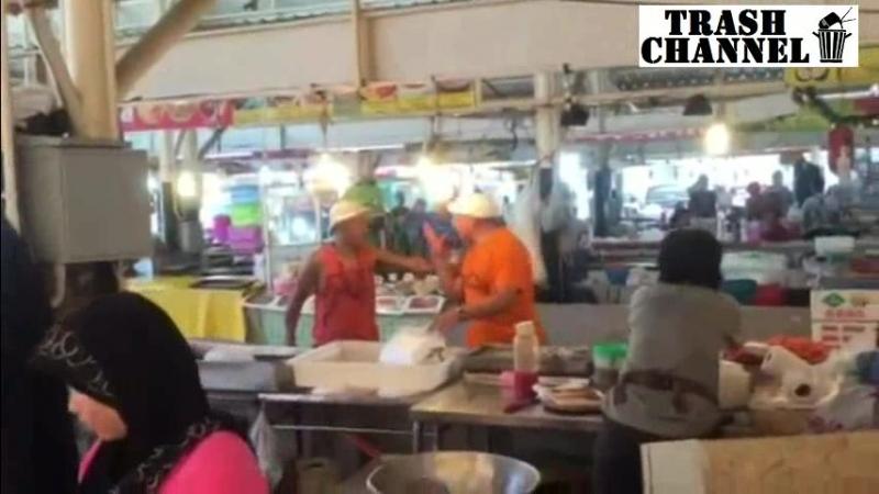 Руссо туристо отрубили ухо в Паттайе