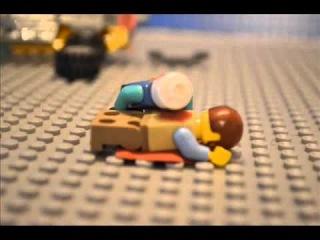 Лего мини-мультфильм (зомби апокалипсис)