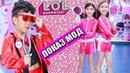 Показ мод от моделей LOL Surprise 4Series 1 wave GLAM GLITTER | LOL Surpirse Fashion Show