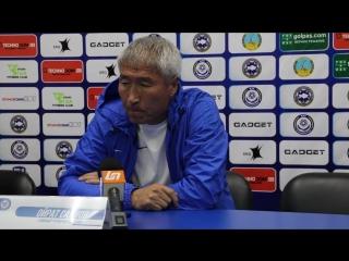 Пресс-конференция О.Садуова после матча Иртыш-Ордабасы