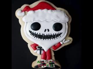Sandy claws jack skellington funko pop! cookie