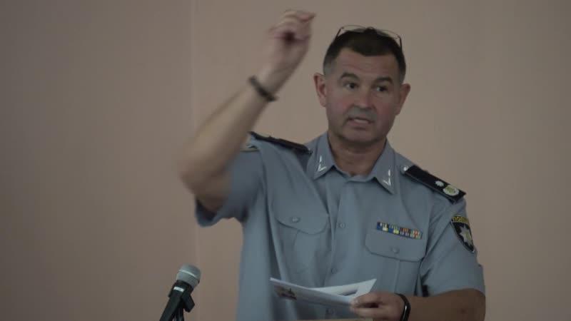 Генерал поліції Лушпієнко виявив незаконні пункти прийому металу