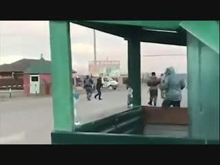 В Грозном молодая смертница устроила взрыв На видео момент взрыва и расстрела полицией
