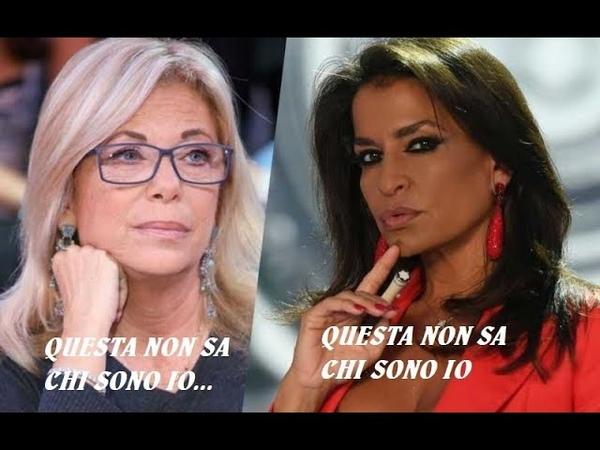 """DI NUOVO RITA DALLA CHIESA,ancora contro Aida: """"La Nizar non ha futuro in tv"""".AIDA GLI RISPONDE"""