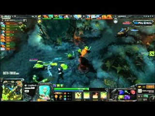 Na'Vi vs Alliance  Grand Final Weplay D2L, game 2 bo5  русские комментарии
