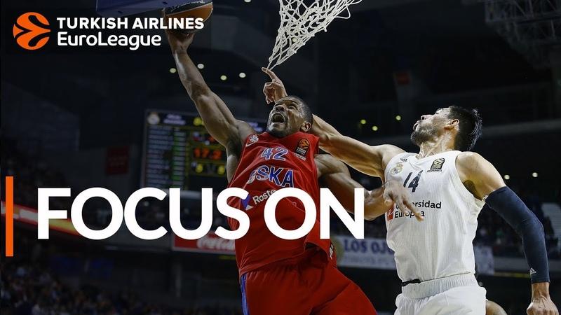 Focus on Kyle Hines, CSKA Moscow