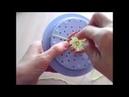 Цветочный лум: как сделать ровные отверстия с краями - валиками