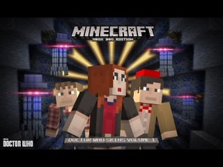 Doctor Who Comes to MINECRAFT! - Doctor Who Skins Vol 1- Doctor Who