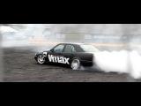 Mercedes C180 RB26DETT Burnout
