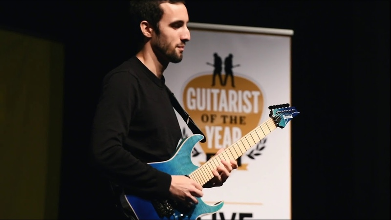 Guitarist of the Year 2018 winner Gabriel Cyr