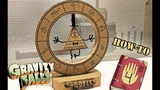 How to Make Bill Cipher LED Wheel from cardboardGravity Falls and Rick and Morty universes