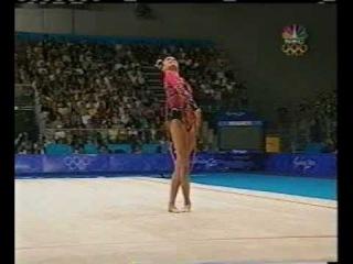 Alina Kabaeva Hoop Qualification Sydney 2000
