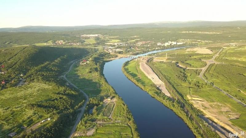 Река КОЛА,Мурманская область.