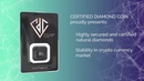 Certified Diamond Coin security and anti-counterfeiting box