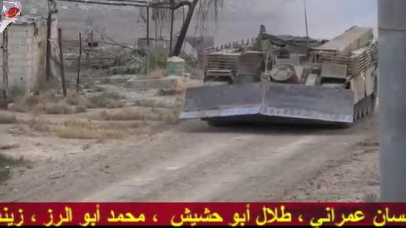 Операции Сирийской армии и Лива аль-Кудс на юге Дамаска
